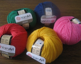 Crochet yarn, knitting yarn, baby cotton yarn, cotton blend, Jeans yarn art, summer yarn, yarn for sale, cotton yarn online, blanket yarn