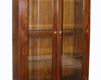 New York Glass Display Cabinet