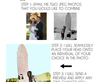 Super Impose your head into a timeless photo, photoshop graphic design OLD FASHION COLOR