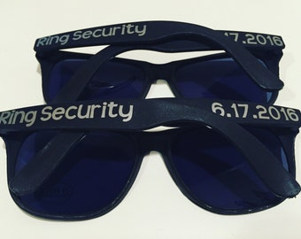 Ring security ring bearer sunglasses -adult size (please see listing details)