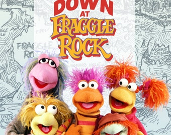 FRAGGLE ROCK iron on transfer