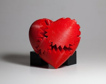 Heart Rotating Gear (Small+Classic, Large and Extra Large)