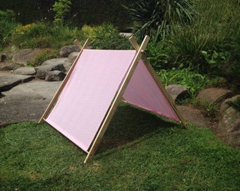 Pretty in Pink Children's Play Tent