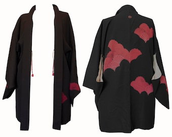 Haori Jacket - Black Fan
