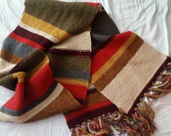 Doctor Who - Tom Baker Wool Knit Scarf