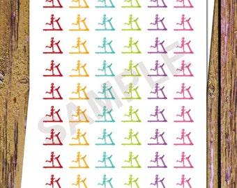 54 Treadmill Planner Stickers Fitness Stickers Running Stickers Gym Planner Workout Planner Functional Stickers Icon Planner Stickers A89