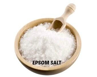 Etsy studio for Epsom salt in french