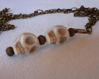 skulls, Gothic pendant
