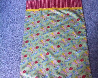 Butterflies, Ladybugs, and Worms Kids Pillowcase