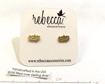 Designer handmade prespective earrings(one pair)