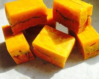 Orange & Red Palm soap