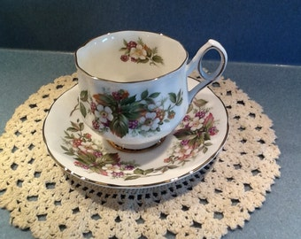 Elizabethan #3656 NEW Vintage Tea Cup and Saucer from the 1980's