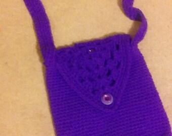 pretty purple bag