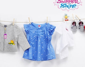 Shimmer and Shine™ Personalized Clothing Package for Kids including Labels and Bag Tags