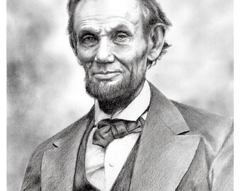 Abraham Lincoln (Mounted Print)