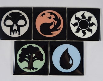 Magic the Gathering Coaster Set