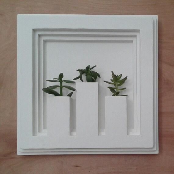 Vaso da parete Q11 parete verde giardino verticale