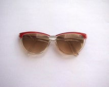 Vintage Sunglasses with Red Stripe