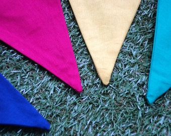 It's a Party!  (Multicoloured Bunting)