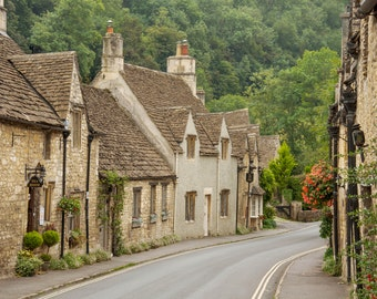 English Village, Cotswolds - Fine Art Print by Meleah Reardon
