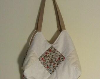 Cream Handmade Bag