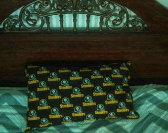 Handmade Steelers Pillow