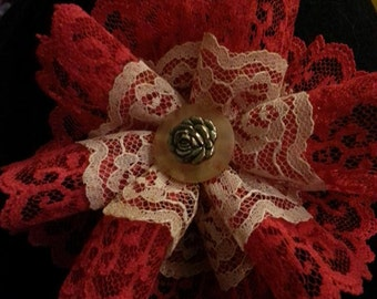 Handmade Lace Flower