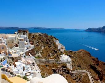 Greek Island - Santorini Joy