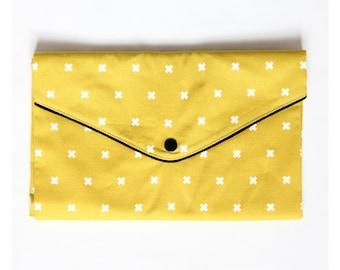 Compact changing mat mustard yellow Mustard Crosses