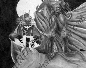 Batman & Batgirl in Gotham