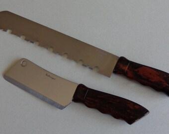 vintage chef knife etsy. Black Bedroom Furniture Sets. Home Design Ideas