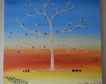 Tree of Life: Oil Painting