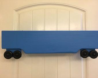 Blue Train Book Shelf