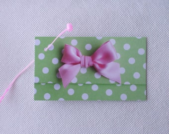 100 FASHION JEWELRY/ACCESSORIES Boutique Clothing Tags Pink Bow on Green/White with  Plastic Self-Locking Loops at Etsy