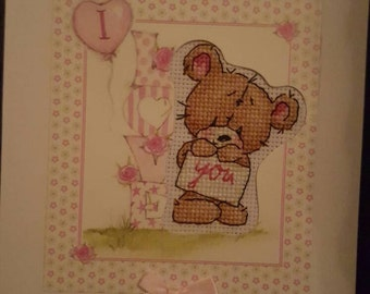 Valentines i love you card..