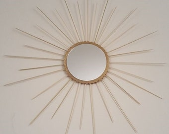 Large mirror wall hanging