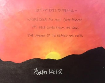 Psalm 121 Painting