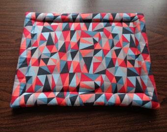 Multi-Colored Kaleidoscope Hot Mat