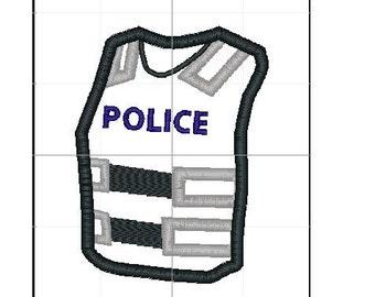 Police Kevlar applique 4x4 5x7 6x10