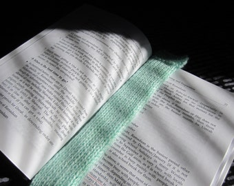 Hand Knitted Bookmark - FREE SHIPPING in U.S.