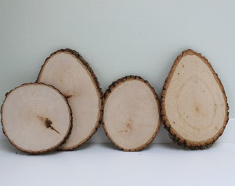 Custom Wood Round - Single or Double Sided