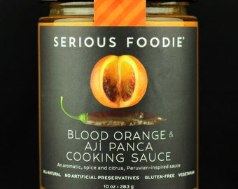 Blood Orange & Aji Panca Cooking and Grilling Sauce
