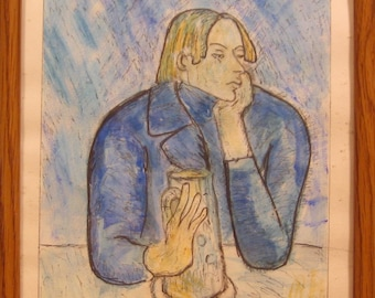 The Poet Sabartes after Picasso