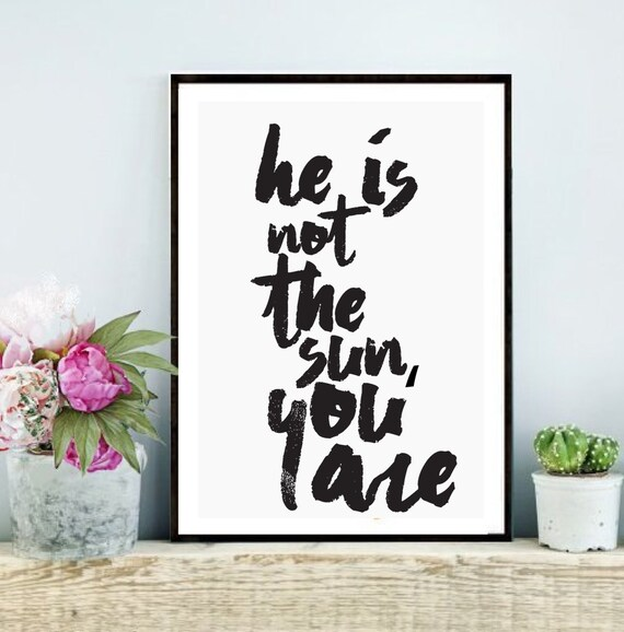 Greys Anatomy Wall Decor : Greys anatomy printable quote he is not the by