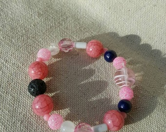 Perfectly Pink Diffuser Bracelet