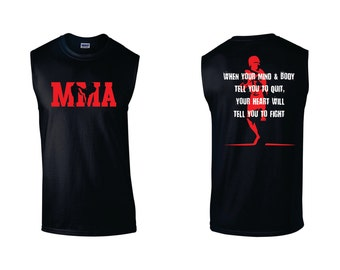 MMA muscle top