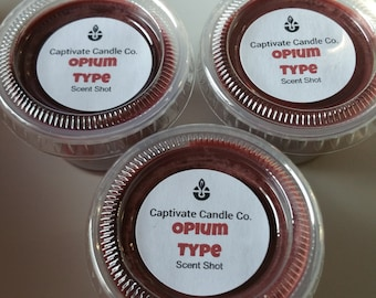 Opium Type Melt Scent Shot Flameless Tart