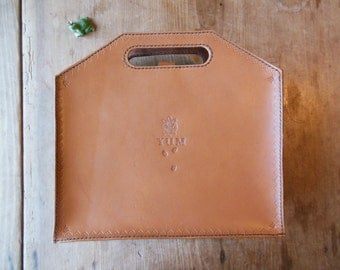 Leather Small PC-case/ Leather i-pad case