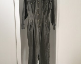 Vintage Banana Republic Khaki Jumpsuit