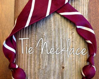 Tie Necklace